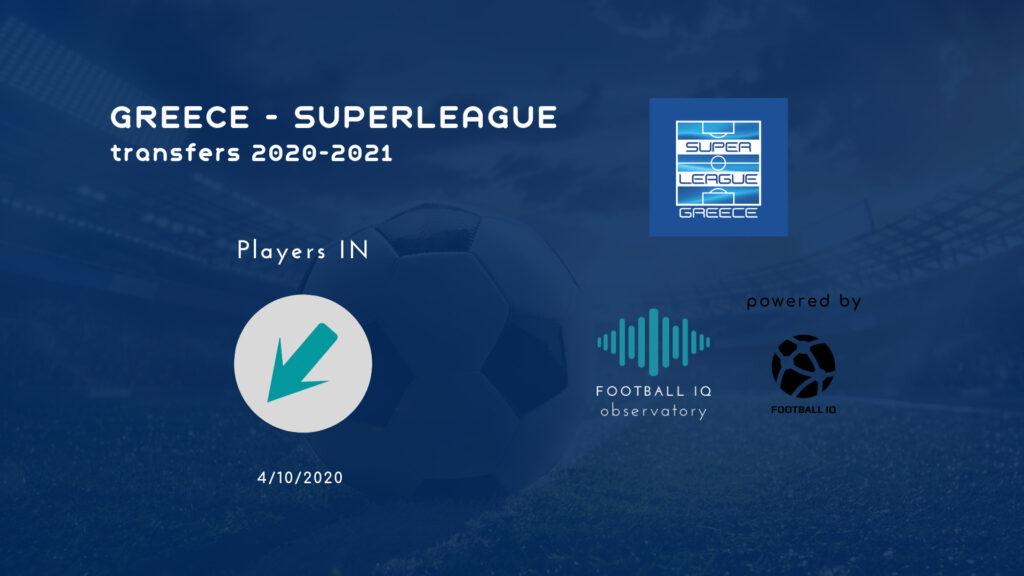 Greece Super League Transfers 2020-2021
